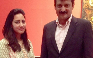 Sania-Ansari-Had a great meeting with the former Senator, State Minister of Pakistan, advisor of The Chairman of PTI in Islamabad , to discus the synergies between Pakistan, UAE and Canada