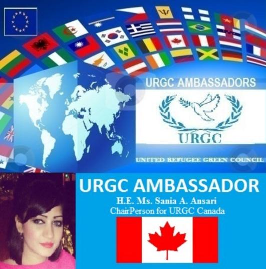 URGC Ambassador Sania Ansari