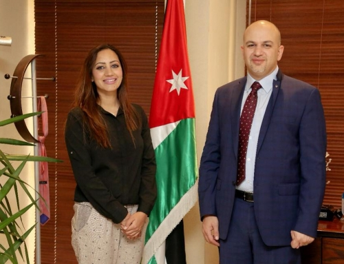 Meeting with H.E. Eng. Mothanna Gharaibeh – Minister of Information and Communications Technology in Amman, Jordan