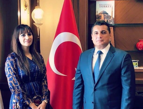 Meeting with the Turkish Ambassador to UAE- H.E. Mr Can Dizdar in Abu Dhabi.