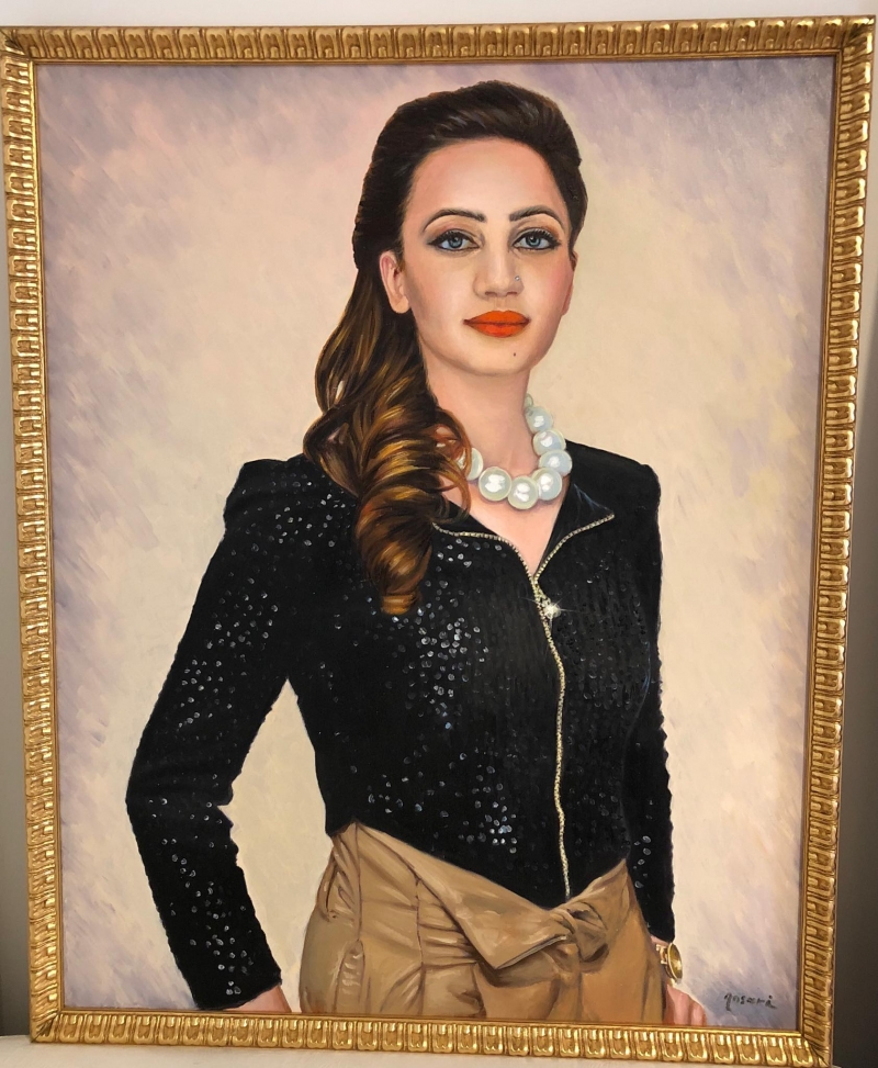 H.E.Sania-Ansari-Portrait