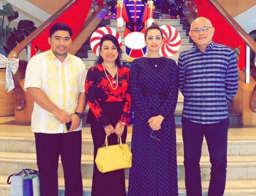 Farewell lunch meeting with HRH Princess Dato Romana Murad HRH Prince Abdul Hafiz and Dato Steven Thor