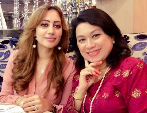 Dinner with HRH Princess Dato Romana Murad, HRH Prince Abdul Aziz
