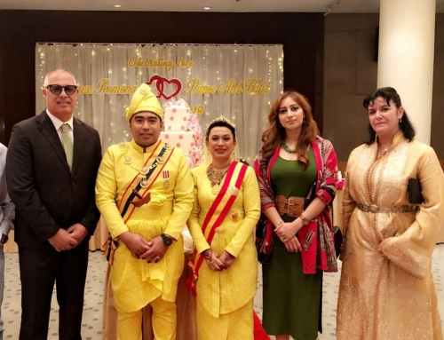 Wedding ceremony of HRH Princess Romana Murad & HRH Prince Abdul Hafiz