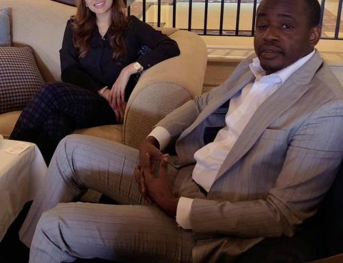 Meeting with the Ambassador of Guiné Bissau- Mamadu Sano in Dubai