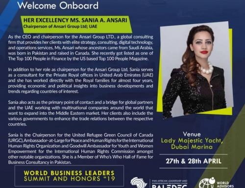 World Business Leaders Summit & Honors Dubai