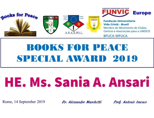 Books For Peace Award 2019.
