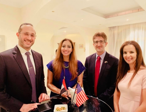 Select USA Investment Summit Networking Reception in Dubai.