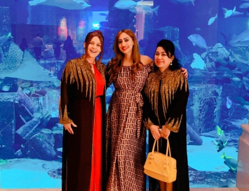 Dinner Meeting with Princess Romona Murad and Liane Freire.